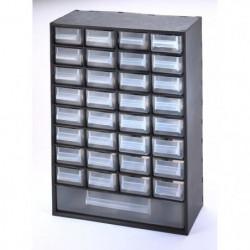 SUNDIS Bloc de rangement Multibox avec 33 tiroirs 29,8x15x41