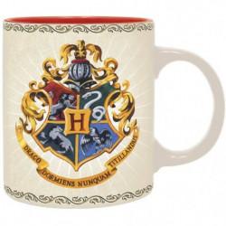 Mug Harry Potter - 320 ml - Poudlard 4 maisons - boîte - ABY