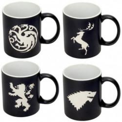 Set de 4 mugs - Game Of Thrones - Collector's Edition