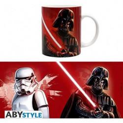 Mug Star Wars - 320 ml - Trooper & Vader - avec boîte - ABYs