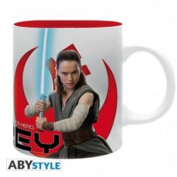 "Mug Star Wars - 320 ml - ""Rey E8"" - subli - avec boîte - ABY"