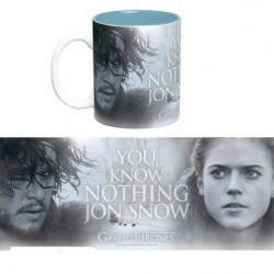 Mug Games Of Thrones - 460 ml - You Know Nothing - avec boit