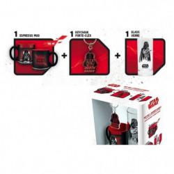 Pack Mug + Porte-clés + Mini Mug Star Wars - Verre 29cl + Po