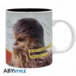 "Mug Star Wars - 320 ml - ""Solo Chewie"" - subli - avec boîte"