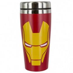 Mug de voyage Marvel: Iron Man