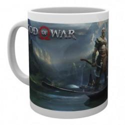 Mug God Of War - Key Art
