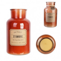 THE CANDLE FACTORY Bougie apothicaire - XL Ambre - D 14.5 X