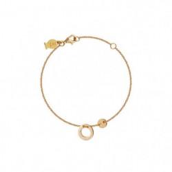 CLIO BLUE Bracelet Argent Doré Jaune - BR2291D