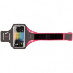 AVENTO Brassard smartphone running - Taille XL - Gris / Rose