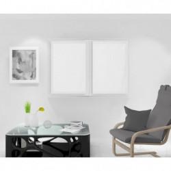 SOLEIL D'OCRE Paire de Brise bise Noémie - 60 x 90 cm - Blan