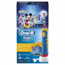 ORAL-B STAGES POWER Mickey de Disney Brosse a dents électriq