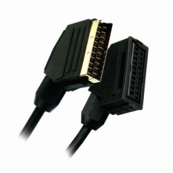 APM 400006 Cordon Péritel Mâle / Femelle 21 Conducteurs - Pl
