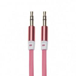 APM 418009 Câble Jack 3.5 mm Plat - Rouge
