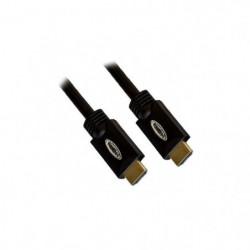 APM 590041 Câble HDMI Mâle / Mâle 1.4 - Ethernet - Rond - 10