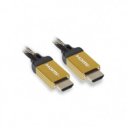 APM 590430 Câble HDMI Mâle / Mâle 2.0 - Ultra HD - 4k - 1.8