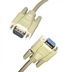 LINEAIRE XPCHD167D Câble VGA mâle / femelle connecteurs doré