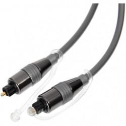 CONTINENTAL EDISION Câble fibre Optique 1.2m EIAJ Toslink mâ