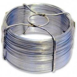 Fil en acier galvanisé - L 50 m - Ø 1,8 mm