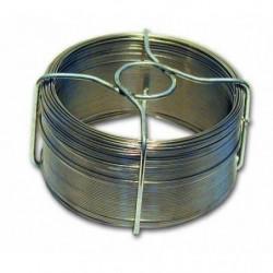Fil en acier inoxydable - L 50 m x Ø 0,8 mm