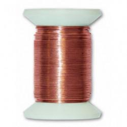 Fil métallique laiton - L 30 m x Ø 0,4 mm