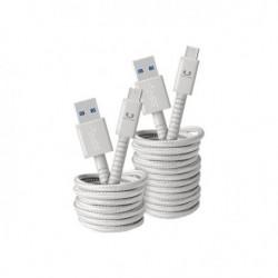 FRESH?N REBEL Câble USB Type-C Fabriq 1,5 m Gris