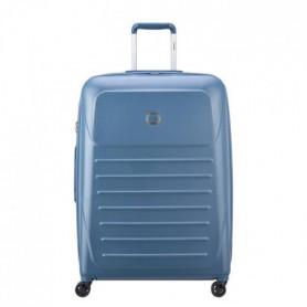 VISA DELSEY Valise Trolley Munia - 76 cm - 4 Roues - Bleu