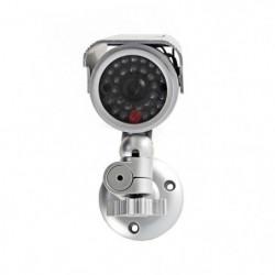 NEDIS Caméra de sécurité factice - Tube - IP44 - Argent