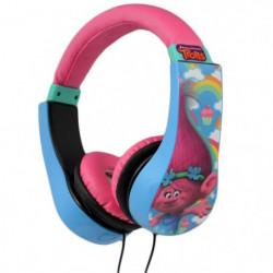 TROLLS Casque audio enfant Kidsafe