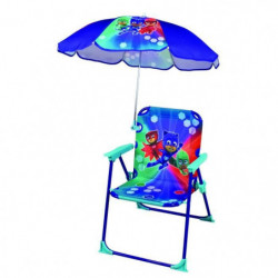 Fun House Pyjamasques chaise pliable avec parasol pour enfan