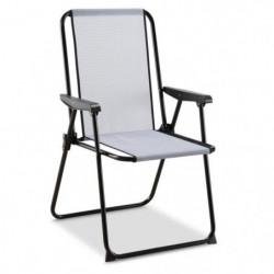 EREDU chaise camping Picolo 421/Tx - Haut Dossier - Pvc Tiss