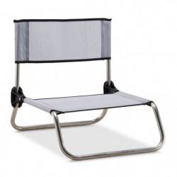 EREDU chaise camping-plage 833/Tx - Aluminium et PVC Tissé -