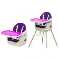 KETER Chaise Haute 3 en 1 MultiDine High - Violet