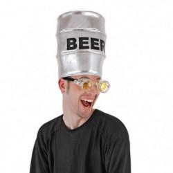 CESAR Chapeau Fût de Biere Pour Adulte