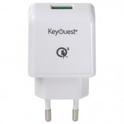 Keyouest 2,4 A - Charge ultra rapide Qualcomm Quick Charge 3