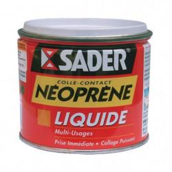 SADER Boite en métal colle contact liquide néoprene - 500 ml