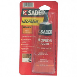 SADER Tube colle contact liquide néoprene - 125 ml