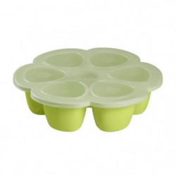Béaba Multiportions silicone 6x150 ml neon
