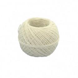 Ficelle fine en nylon - Ø 0,7 mm x 60 m - Blanc