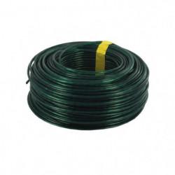 Corde a linge - Ø 2,7 mm x 60 m - PVC et acier - Vert