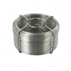Fil de fer avec dévidoir - 50 m / Ø 1,1 mm - Acier galvanisé