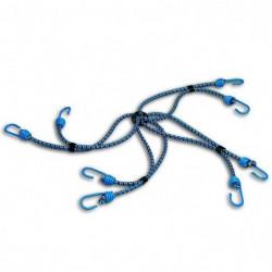 Araignée 8 bras + crochet - Acier plastifié - Ø 8 mm