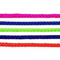 Corde polypropylene et polyester tressée - Ø 4 mm x 20 m - C