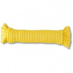 Corde polypropylene torsadée - Résistance a la rupture indic