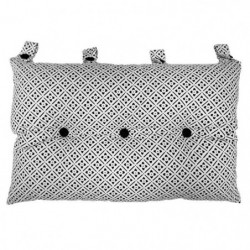 Tete de lit coussin 100% coton imprimé CLOVER - 50x70 cm - N