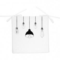 SOLEIL D'OCRE Galette de chaise Lampes - 40x40x3 cm