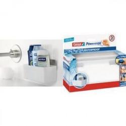 TESA Panier porte accessoires salle de bain - Plastique - Su