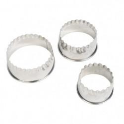 EQUINOX Emporte piece  - ? 7,5-6-5 cm - Gris