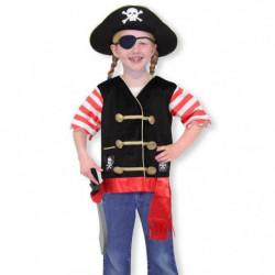 MELISSA & DOUG Costume De Pirate - Carnaval