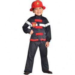 CESAR - F566 - Déguisement pompier - 8 / 10 ans