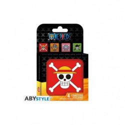 Set de dessous de verres (4) One Piece - Skulls - ABYstyle